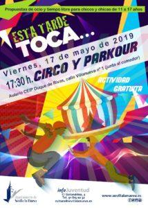 Esta tarde toca... - Circo y Parkour @ Espacio Joven