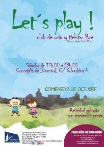 Comienzo de la actividad Let´s play!