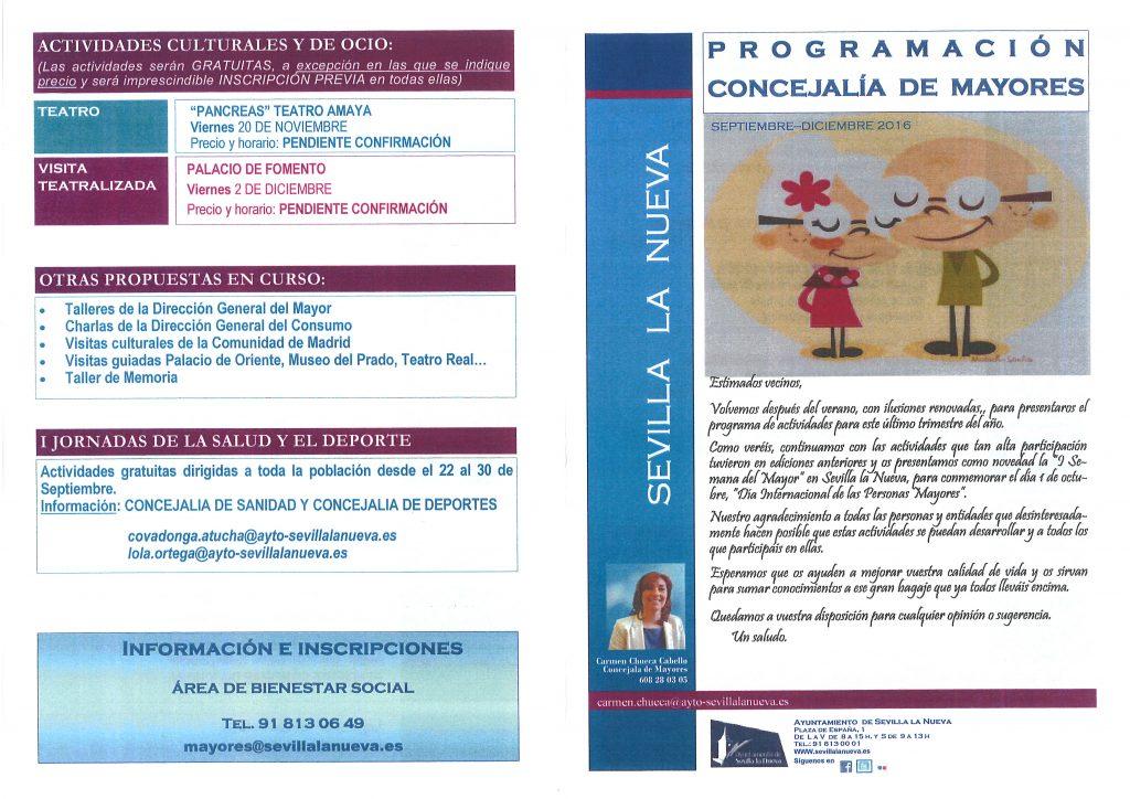 Programa Mayores 2016-2017