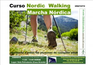 Curso Nordic Walking (Marcha Nórdica) @ Sala Polivalente