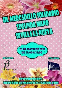 III Mercadillo Solidario Segunda Mano @ Plaza de Sevilla