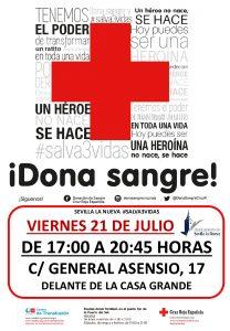 ¡Dona Sangre en Sevilla la Nueva! @ Frente a la Casa Grande