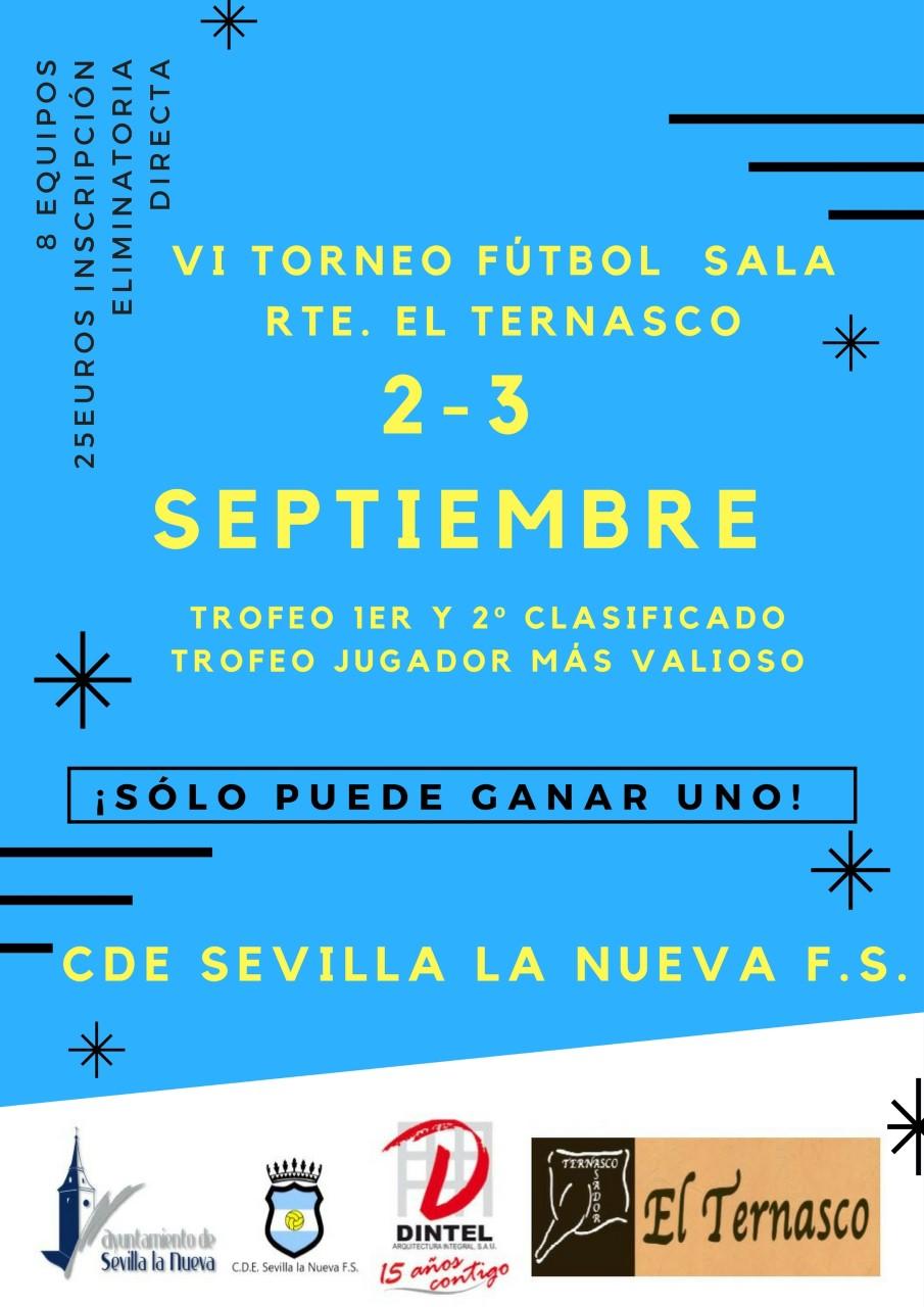 VI Torneo de Fútbol Sala en Sevilla la Nueva 11a35073f9cb1