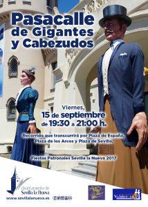 Desfile de Gigantes y Cabezudos @ Sevilla la Nueva
