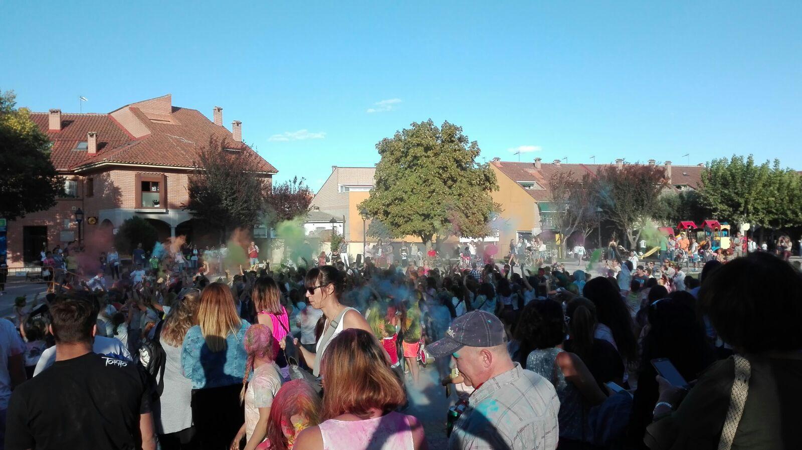 Gran festival de los colores holi party en sevilla la - El tiempo en sevilla la nueva ...