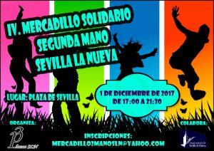 'IV Mercadillo solidario de segunda mano' @ Plaza de Sevilla