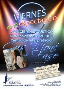 Viernes de espectáculo - Cris Moné + Fase @ Centro de Interpretación
