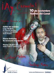 Salida al teatro - ¡Ay, Carmela! @ Teatros del Canal