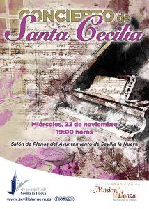 Concierto de Santa Cecilia - EMMD Sevilla la Nueva @ Salón de Plenos