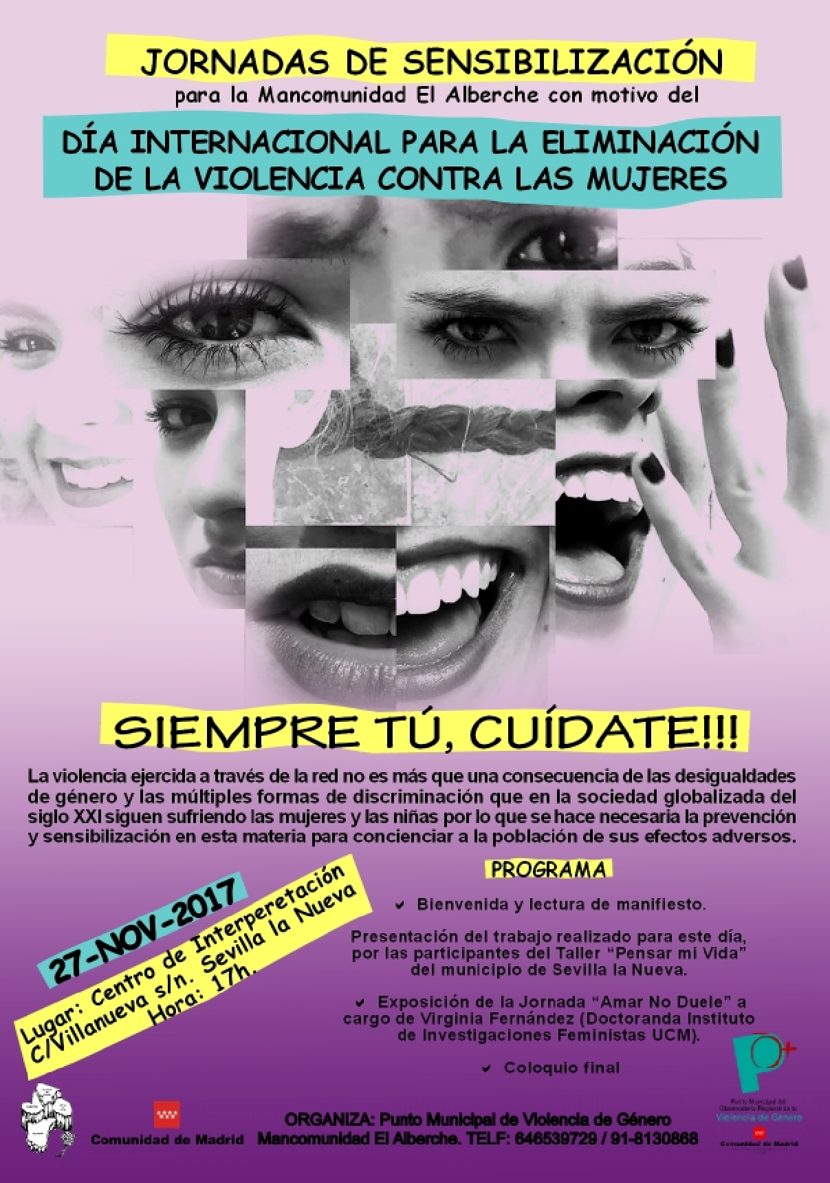 Jornadas de Sensibilización contra la Violencia de Género @ Centro de Interpretación