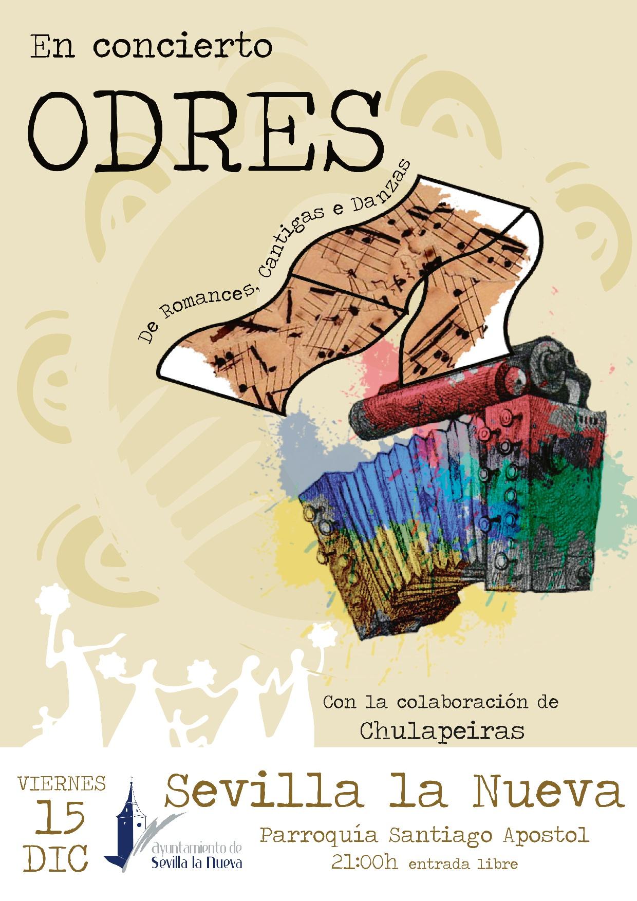 Concierto - Grupo 'Odres' @ Parroquia Santiago Apóstol