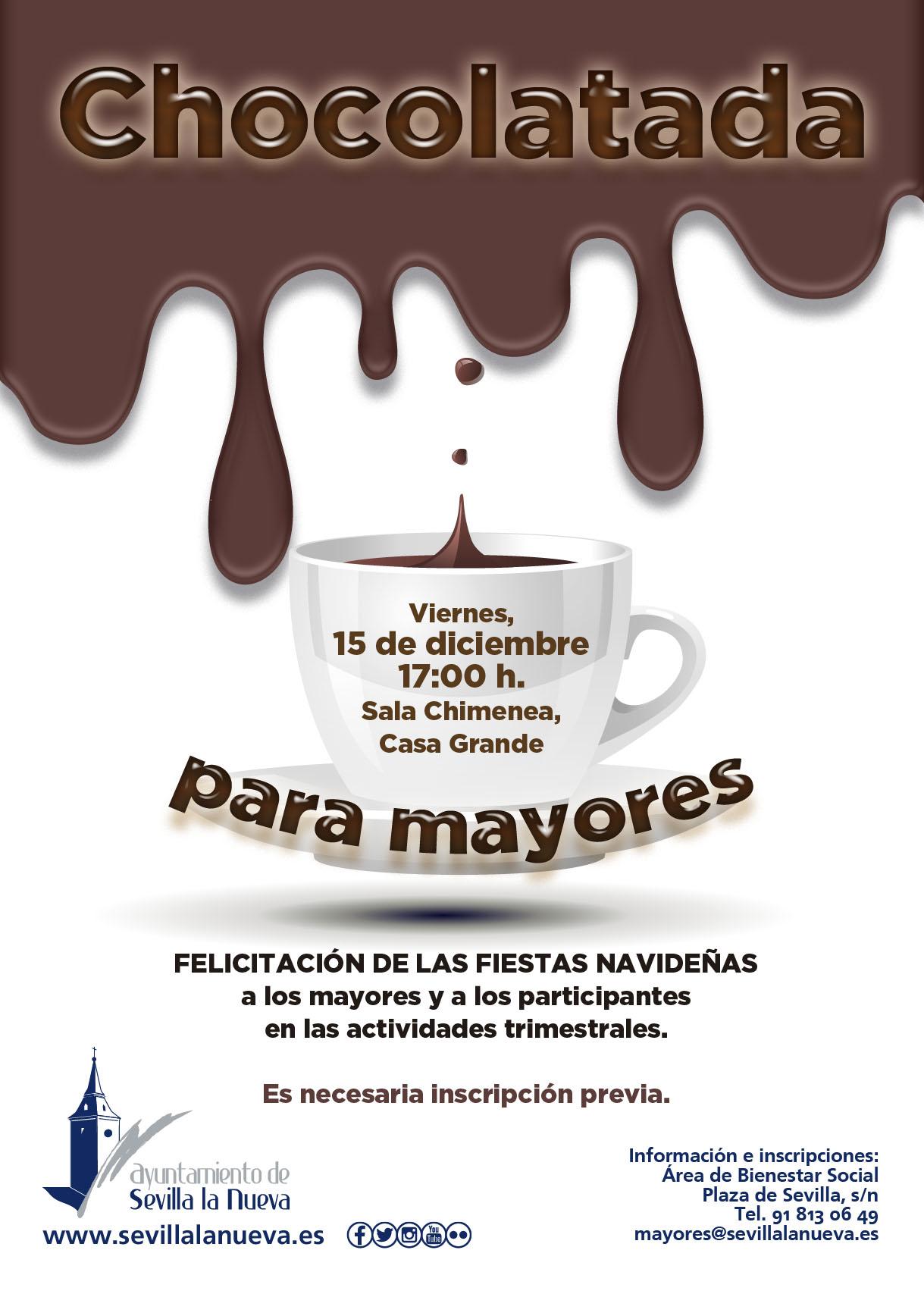 Chocolatada para Mayores @ Casa Grande