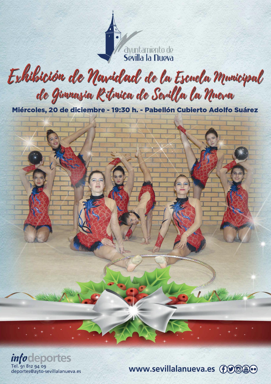 Exhibición Escuela Municipal de Gimnasia Rítmica @ Pabellón Cubierto 'Adolfo Suárez'