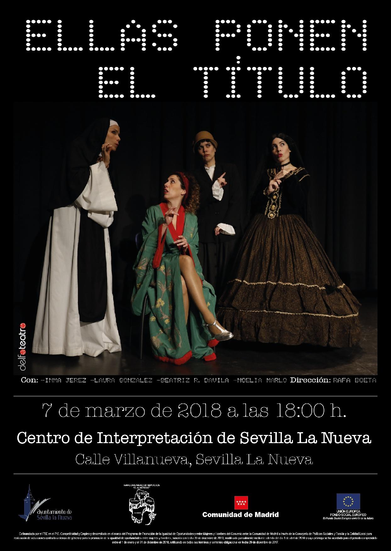 Teatro - Ellas ponen el título @ Centro de Interpretación