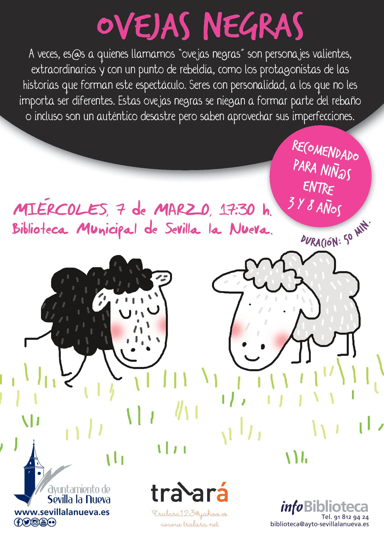 Cuentacuentos - Ovejas Negras @ Biblioteca Municipal