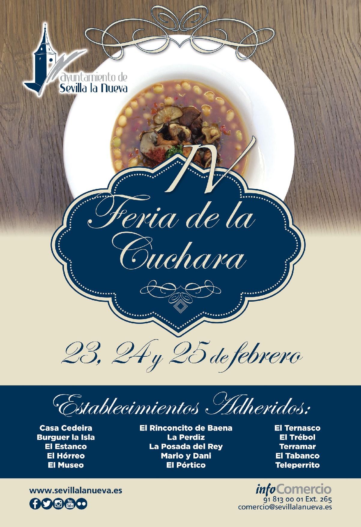 IV Feria de la Cuchara @ Sevilla la Nueva