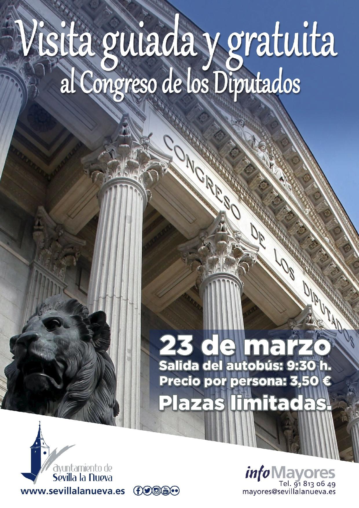 Vista guiada al Congreso de los Diputados @ Congreso de los Diputados