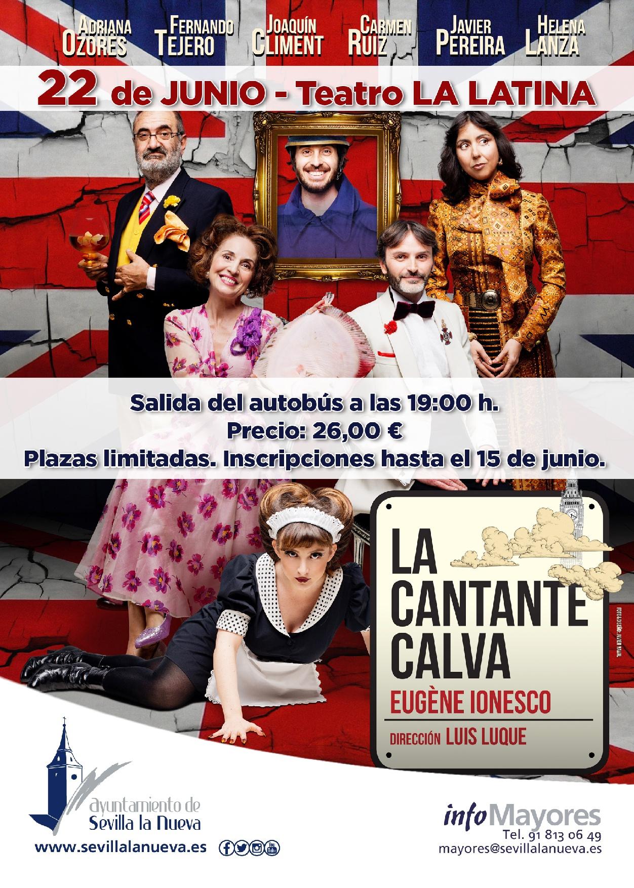'La cantante calva' - Teatro La Latina @ Teatro La Latina