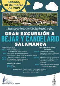 Excursión a Bejar y Candelario @ Bejar y Candelario