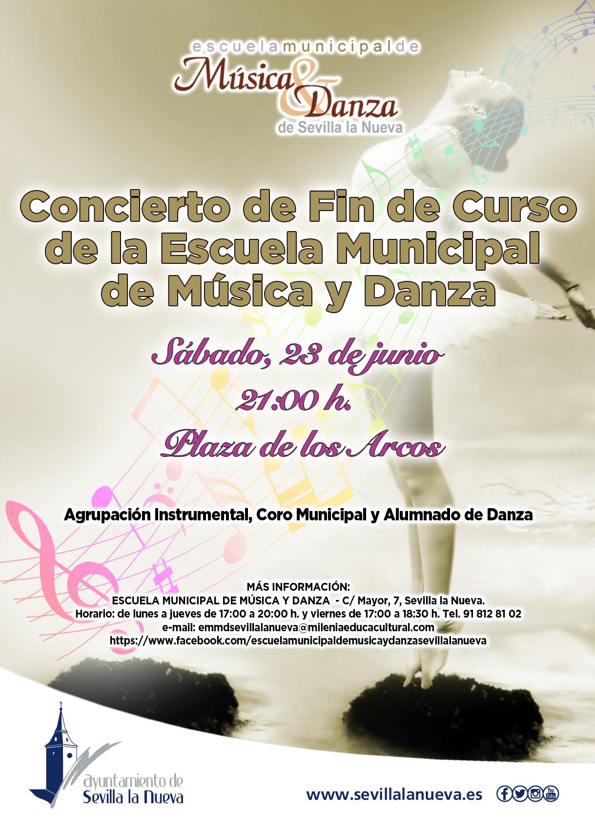EMMD - Concierto de fin de curso @ Plaza de los Arcos