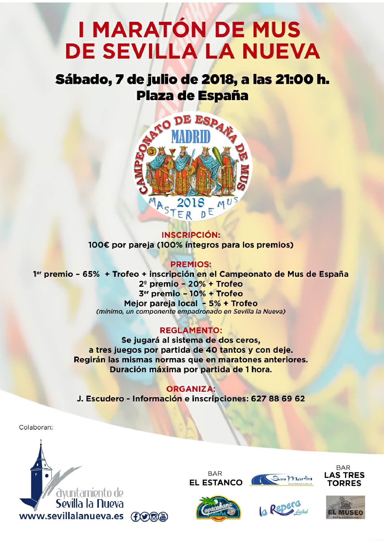 I Maratón de Mus @ Plaza de España
