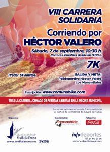 VIII Carrera Solidaria 'Corriendo por Héctor Valero' @ Polideportivo Héctor Valero
