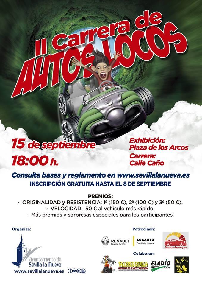 II Carrera de Autos Locos @ Calle Caño