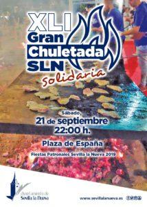 XLI Gran Chuletada Solidaria @ Plaza de España