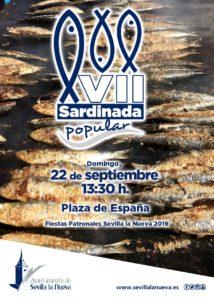 VII Sardinada Popular @ Plaza de España