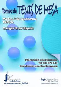 Torneo de Tenis de Mesa @ Colegio Nova Hispalis
