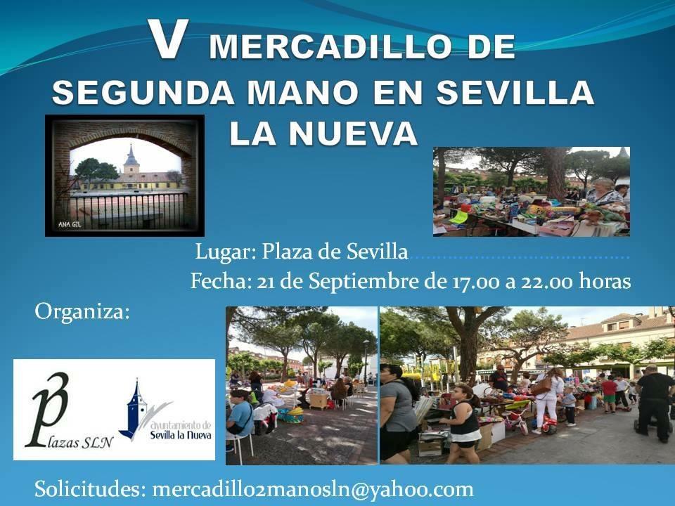V Mercadillo Solidario @ Plaza de Sevilla