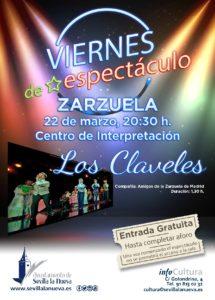 Viernes de espectáculo - Zarzuela 'Los Claveles' @ Centro de Interpretación