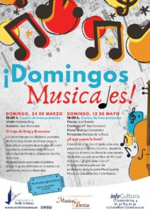 Domingos musicales - El viaje de Roig y Broncano @ Centro de Interpretación