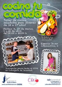 Cocina tu comida: taller de cocina para jóvenes @ Espacio Joven
