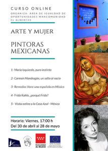 Curso online. ARTE Y MUJER.