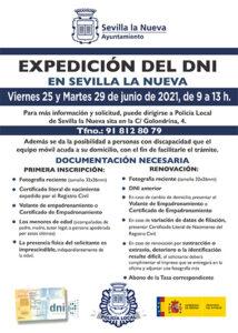Nueva fecha expedición del DNI