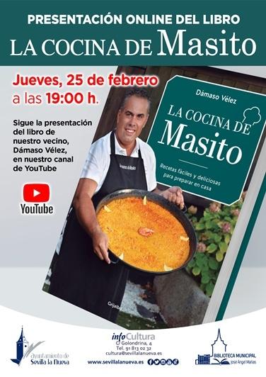 """Presentación libro """"La Cocina de Masito"""" @ Canal de YouTube Sevilla la Nueva"""