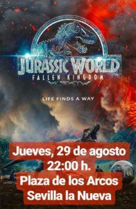 Jurassic World: El reino caído - Cine de verano @ Plaza de los Arcos