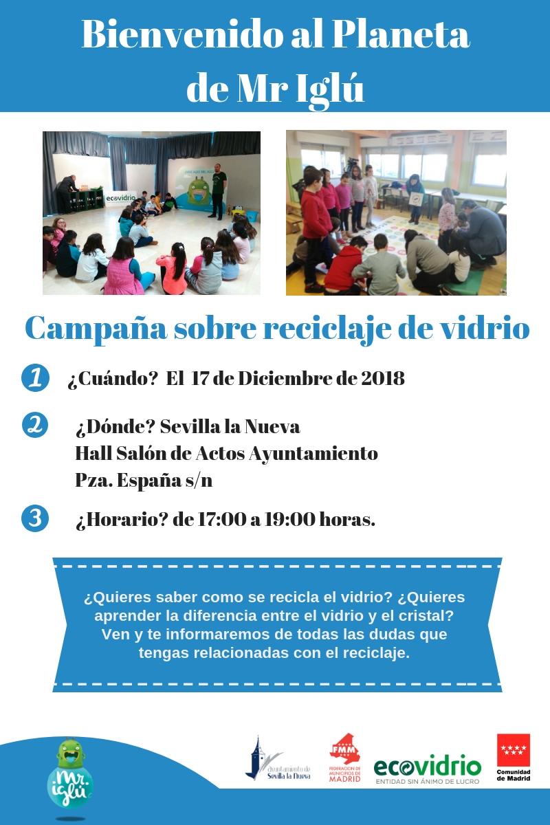 "Ecovidrio - ""Bienvenido al planeta de Mr. Iglú"" @ Ayuntamiento de Sevilla la Nueva"