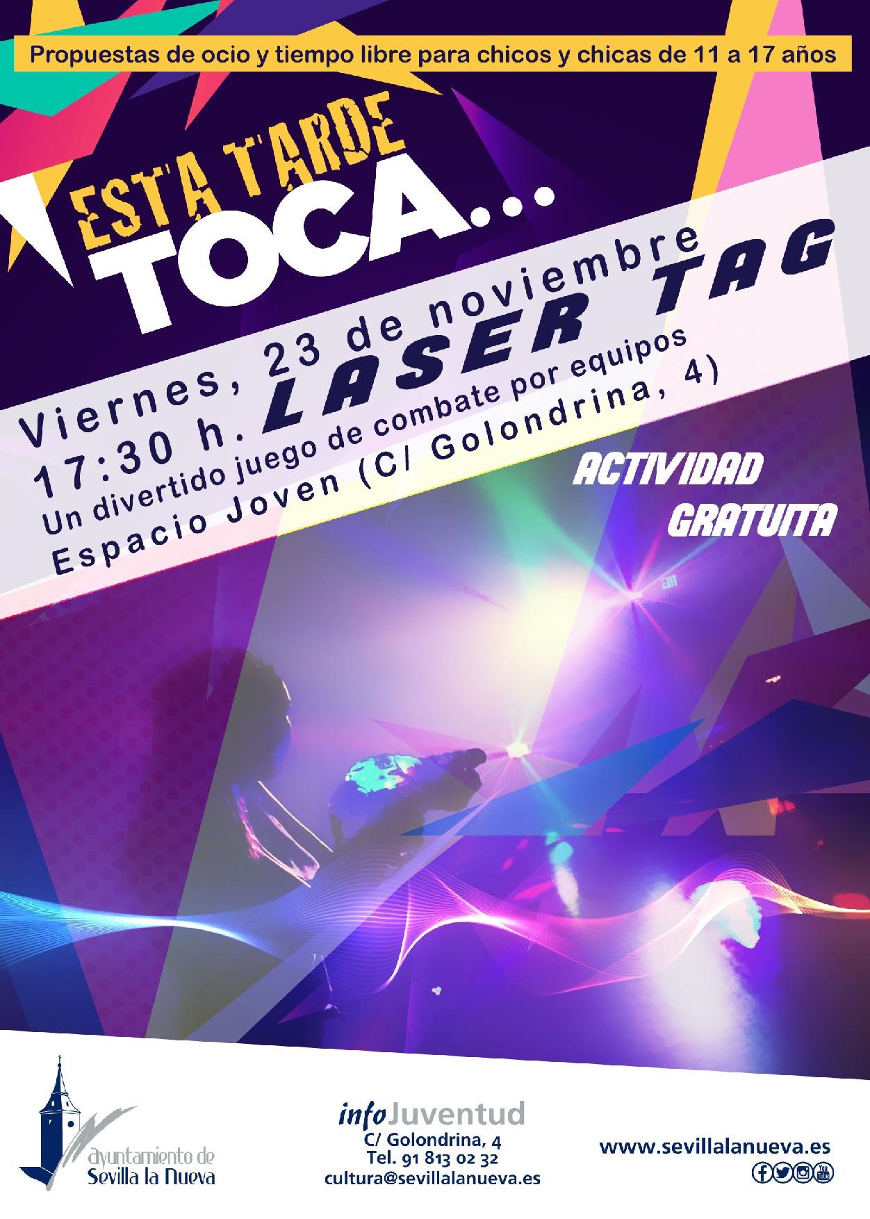 LASER TAG Sevilla la Nueva @ Espacio Joven