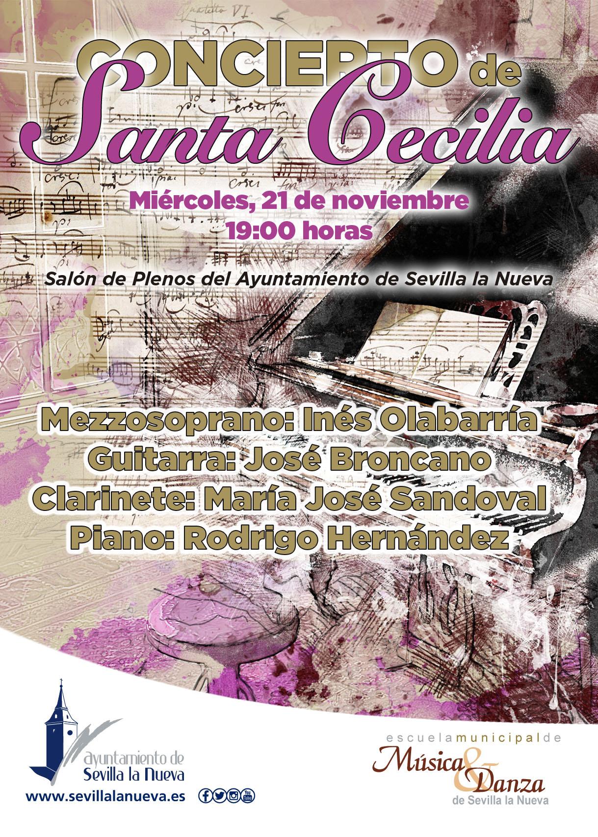 Concierto de Santa Cecilia EMMD @ Salón de Plenos