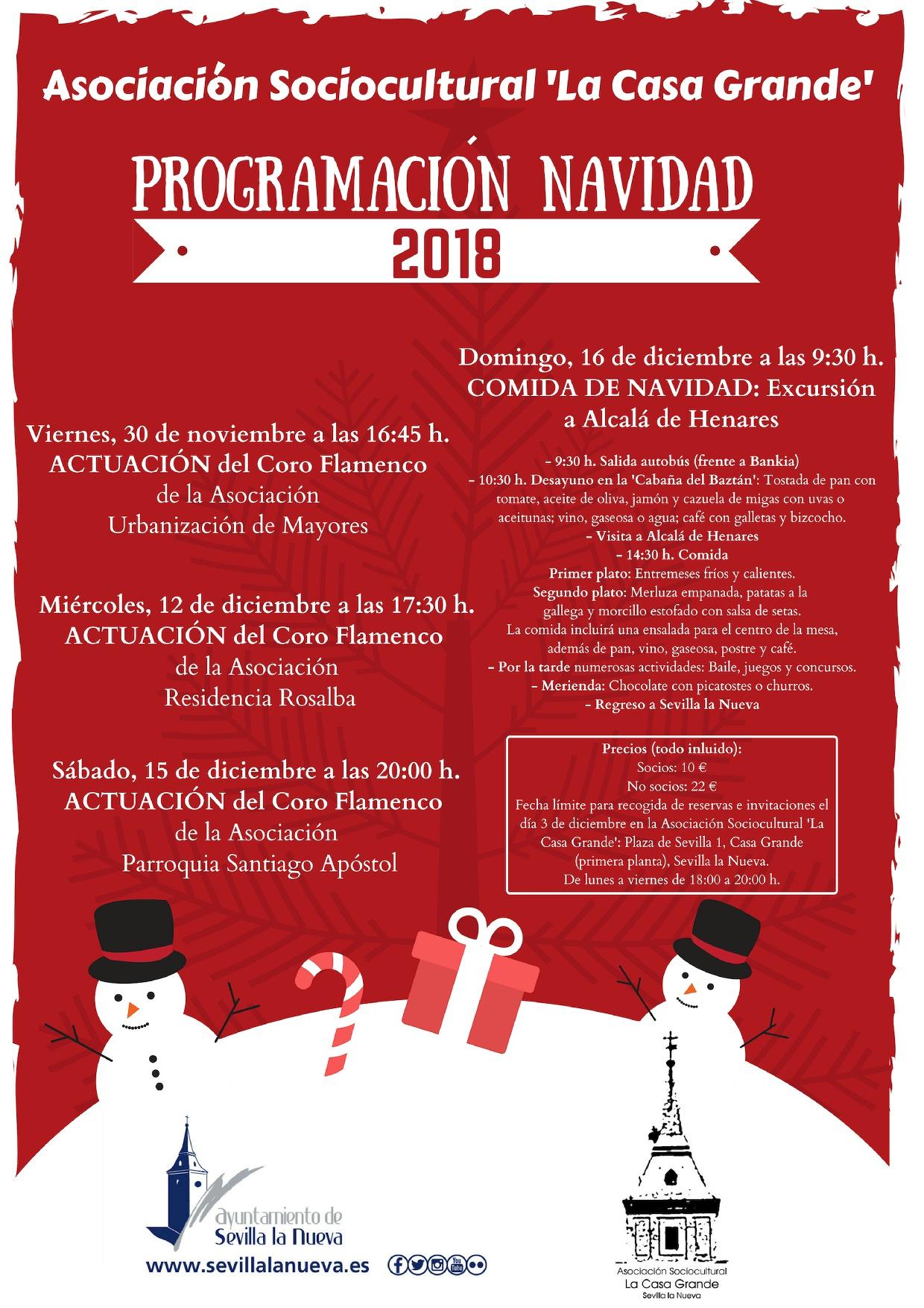 Excursión a Alcalá de Henares y comida de la Asociación 'La Casa Grande' @ Alcalá de Henares