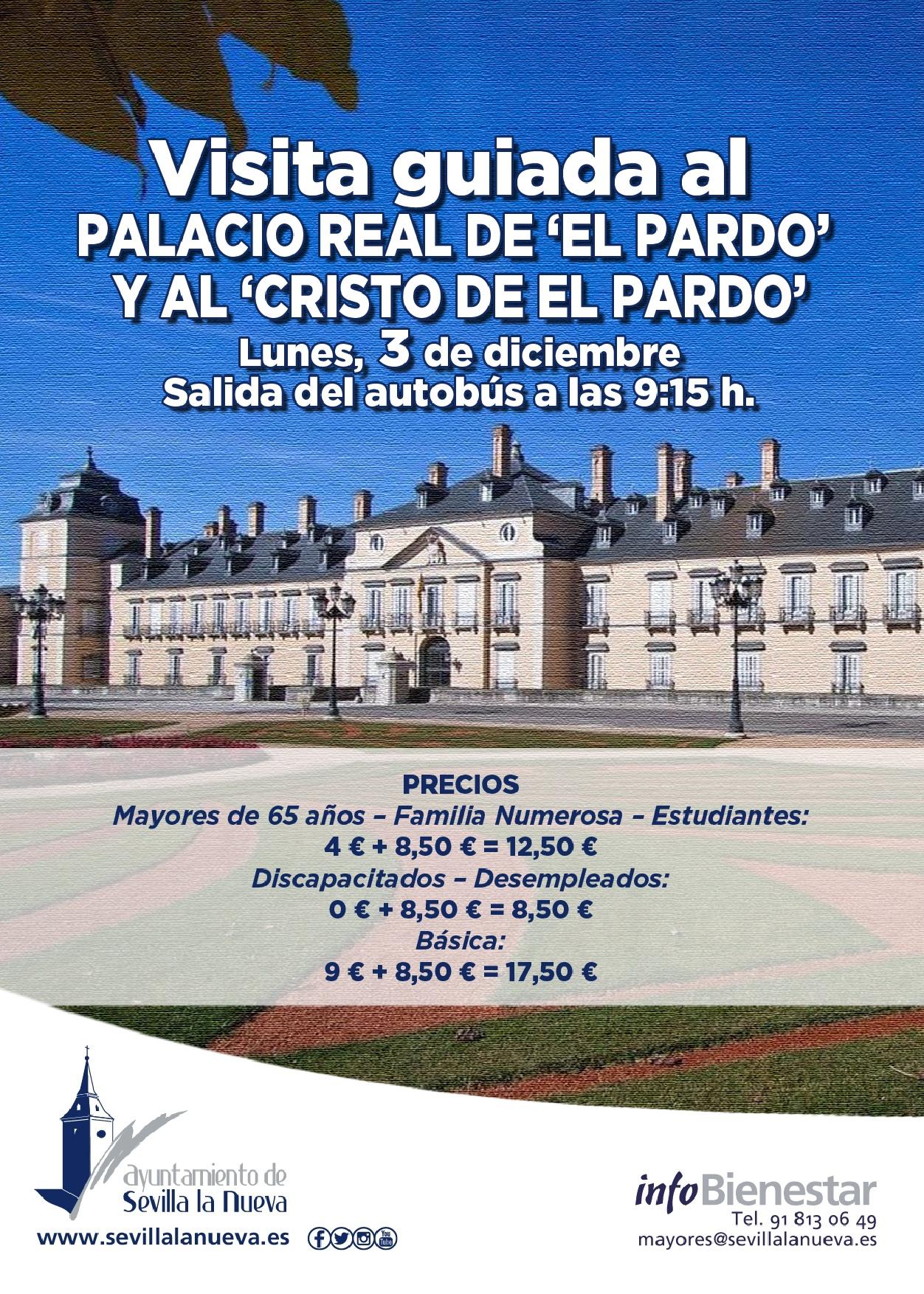 Visita guiada - Palacio de 'El Pardo' @ Palacio de 'El Pardo' | Madrid | Comunidad de Madrid | España
