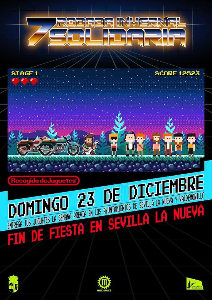 7ª Rodada Invernal Solidaria @ Plaza de España