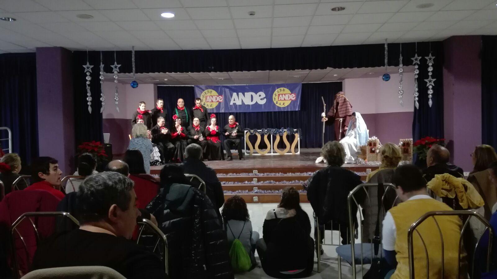 Festival de Navidad - Fundación ANDE @ Urbanización de Mayores