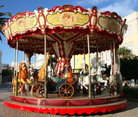 Carrusel de Navidad @ Plaza de España