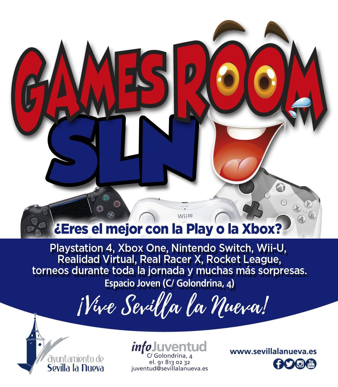 Games Room SLN Navidad @ Espacio Joven