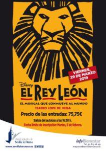 Musical 'El Rey León' @ Teatro Lope de Vega