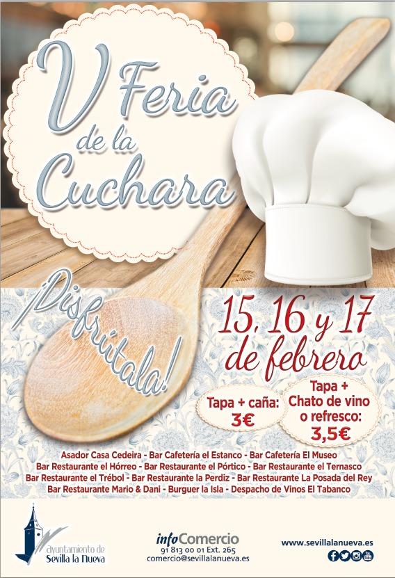 V Feria de la Cuchara @ Sevilla la Nueva