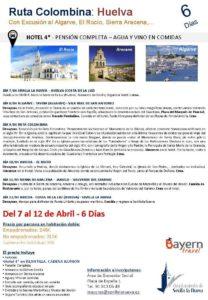 Excursión a Huelva: Ruta Colombina @ Huelva
